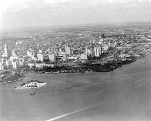 Burlingame Island in 1928