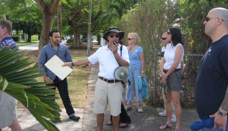 Dr Paul George Tour Guide