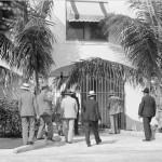 Al Capone & Men at Palm Island Home in 1929
