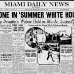 Miami News Headline featuring Al Capone