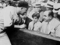 Al Capone and Sonny at Wrigley Field