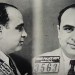 Mug Shot of Capone's Arrest in Miami in May of 1930.