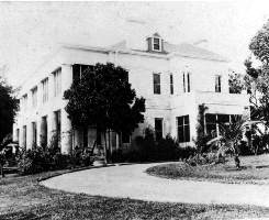Jackson Home on Brickell Avenue in 1919