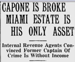 Miami News Headline on December 22nd, 1938