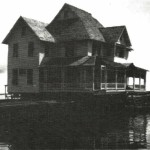 Jackson House on Barge in 1916