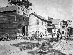 Gautier Groceries on Avenue D in 1897