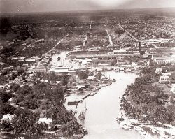 Miami River in 1918