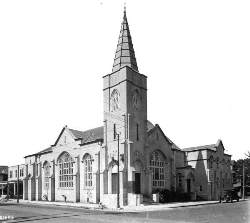 Trinity Methodist Episcopal Church in 1924