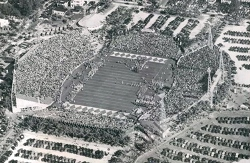 Roddy Burdine Stadium in Mid-1940s
