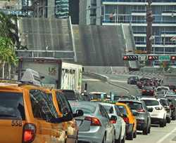 Brickell Avenue Bridge Traffic