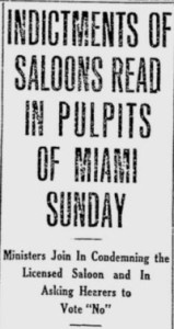 Miami Metropolis Headline on October 27th, 1913