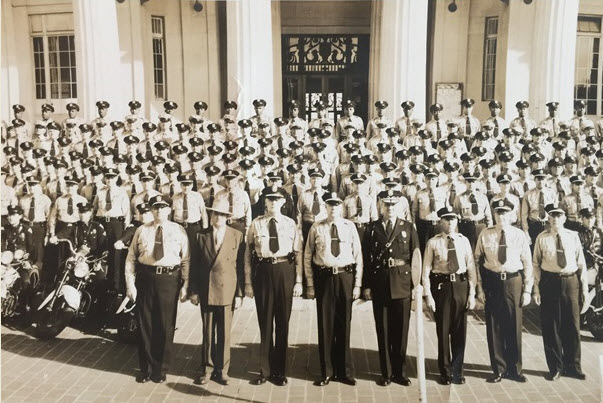 Miami Police Department in 1950