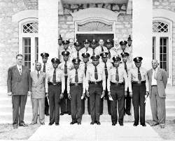 Black Miami Officers in 1952