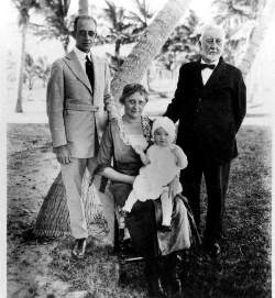 Collins and Pancoast Family in 1921