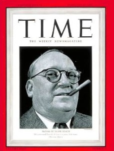 Johh H. Levi on Cover of Time Magazine in 1940