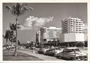 Miami Beach in the 1950s