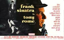 Poster for Tony Rome Movie