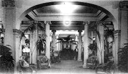 Interior of Royal Palm Hotel