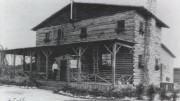 Exterior of Jungle Inn in 1921