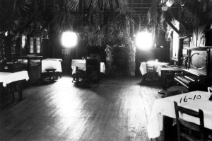 Inside of Jungle Inn in 1921