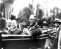 FDR in Jacksonville in 1933