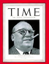 Miami Beach Mayor on Cover of Time in 1940