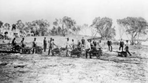 Ground Breaking for Royal Palm Hotel in 1896