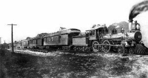 FEC Locomotive #12 to Miami on April 22, 1896