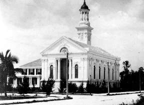 First Church Service in 1896