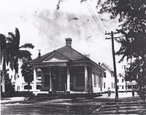 Dr. Jackson office and home on Twelfth Street on August 16th, 1916. Courtesy of Dade Heritage Trust.