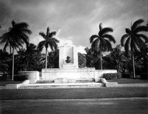Carl Fisher Memorial in 1946
