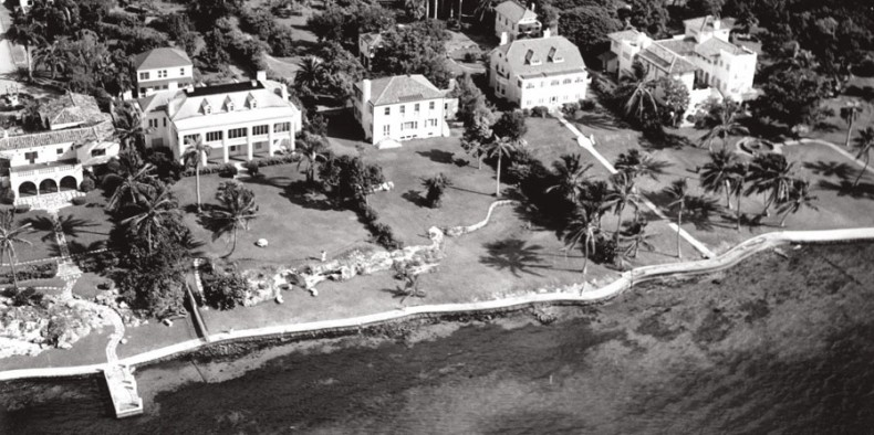 Aerial View of Millionaire's Row in 1948