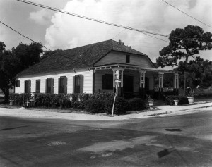 Lemon City Library in 1955