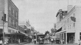 Avenue D and Twelfth Street (Miami Avenue & Flagler Street) in 1913