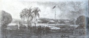 Fort Dallas in 1858