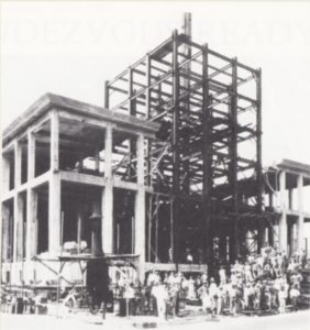 Miami News Tower construction on November 11, 1924
