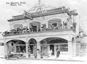 Majestic Hotel in 1918