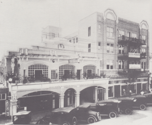 Majestic Hotel and Hotel Roberts in 1921