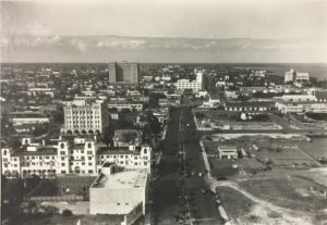 Aerial View from Miami Daily News Tower in 1930