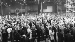 Republican Convention on Miami Beach in 1968