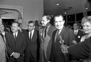 Richard Nixon at 1968 Republican Convention on Miami Beach