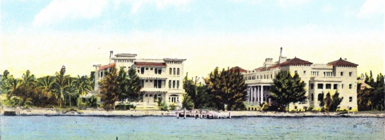Postcard of Brickell & Bulmer Apartments