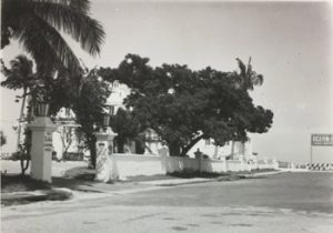Ocean Ranch Hotel Entrance in 1951