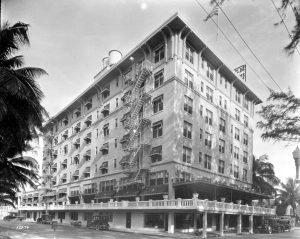Hotel Urmey in 1925