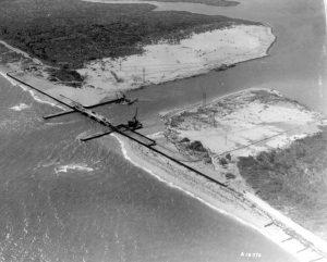 Baker's Haulover Inlet in 1927