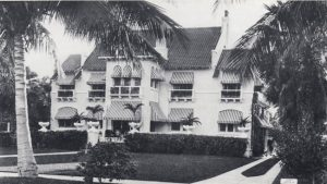 Aubert Fay's home in Point View