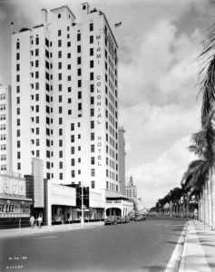 Miami Colonial Hotel in 1946.