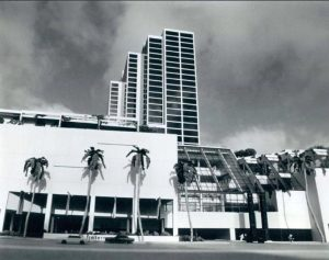 Omni Hotel and Mall in 1977.