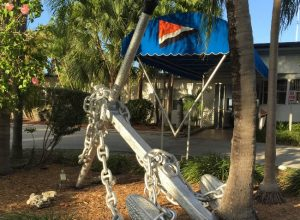 Prins Valdemar anchor at Miami Yacht Club
