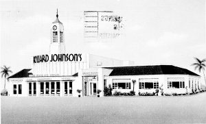 Howard Johnson's Restaurant Postcard.